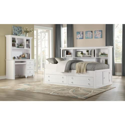 Writing Hutch/Desk Set, White