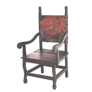 Dark Arm Yucatan Chair