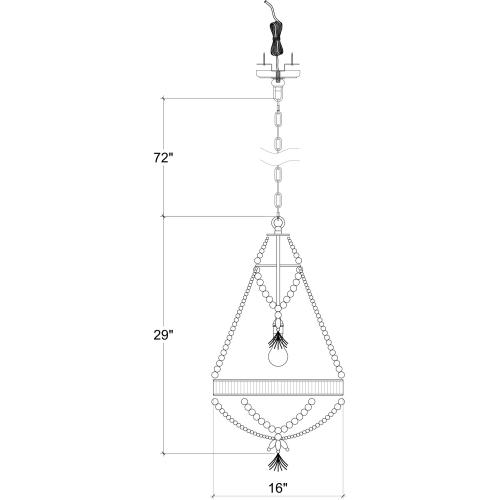Product Image - Bohemia Chandelier Small