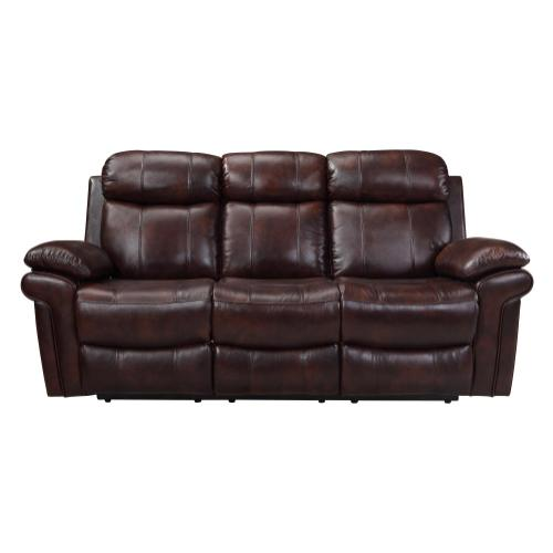 Leather Italia USA - E2117 Joplin Sofa 1081lv Brown