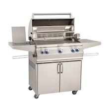 Aurora A540s Portable Grill with Single Side Burner