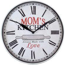 12-Inch Mom's Kitchen Wall Clock