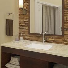 View Product - Lilli Rectangular Undermount Vitreous China Bathroom Sink