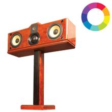 ST1Custom Finish Single Post Speaker Stand for 2-Way and 3-Way Freestanding Main and Center Channel Speakers *Speaker not included