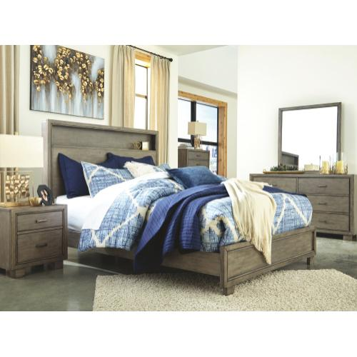 Arnett King Bookcase Bed