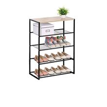 3327 4-Tier Metal Shoe Rack