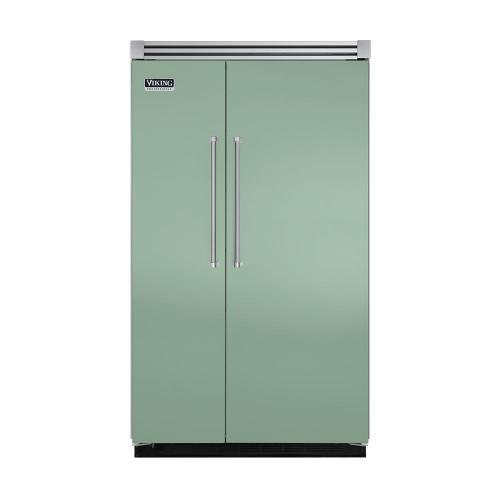 "Viking - Sage 48"" Quiet Cool™ Side-by-Side Refrigerator/Freezer - VISB Tru-Flush™ (48"" wide)"