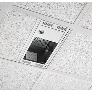 1' x 2' Above Suspended Ceiling Storage Box with Column Drop