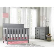 Fisher-Price Clayton Convertible Crib, Stormy Grey