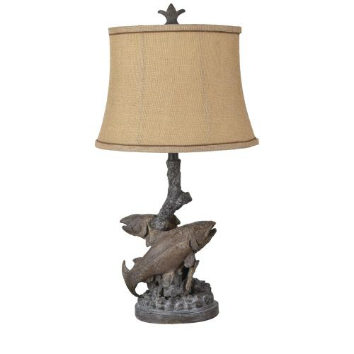 Crestview Collections - Up Stream Table Lamp
