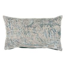 Liliana Lumbar Jaquard Pillow, Blue