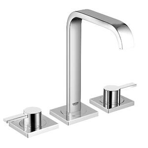 Allure 8-inch Widespread 2-handle M-size Bathroom Faucet 1.2 Gpm