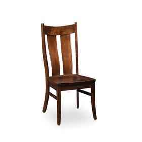 Corbin Side Chair, Fabric Cushion Seat