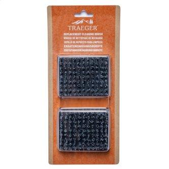 Traeger Replacement BBQ Cleaning Brush Head (2 Pack)