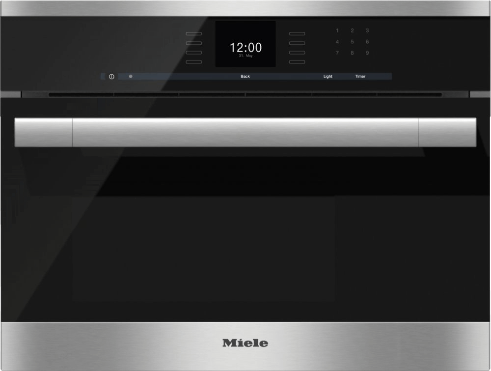 MieleDg 6500 - Built-In Steam Oven With A Large Text Display And Sensortronic Controls For Extra Convenience.