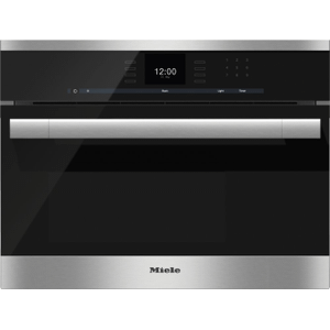 Built-in steam oven with a large text display and SensorTronic controls for extra convenience. Product Image