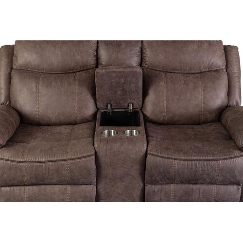 Carrizo Reclining Sofa, Console Loveseat & Recliner, M7621