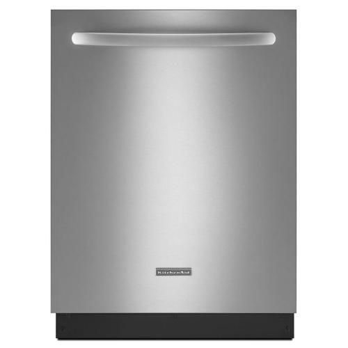 KitchenAid - KitchenAid® 24-Inch 4-Cycle/3-Option Dishwasher, Architect® Series II - Black