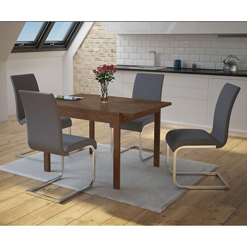 Maxim Side Chair, set of 2 in Grey