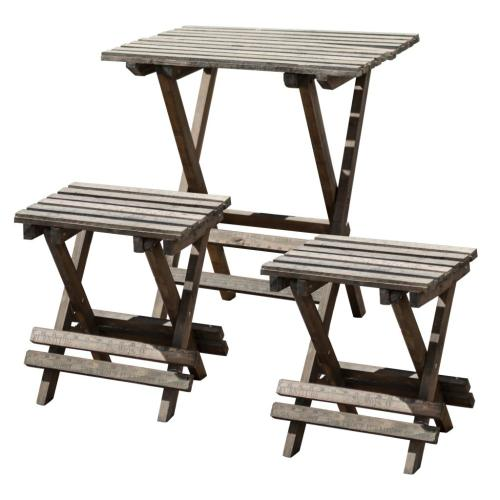 A & B Home - S/3 Table&Chairs