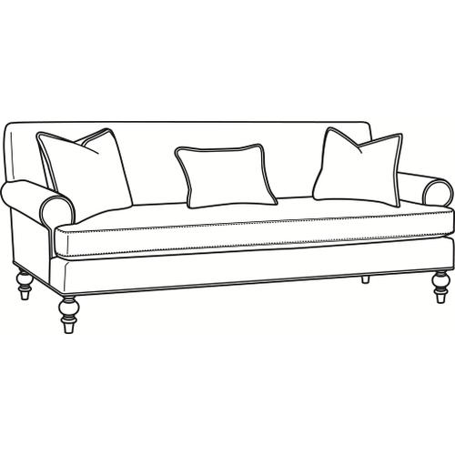 Braxton Culler Inc - Celeste Bench Seat Sofa