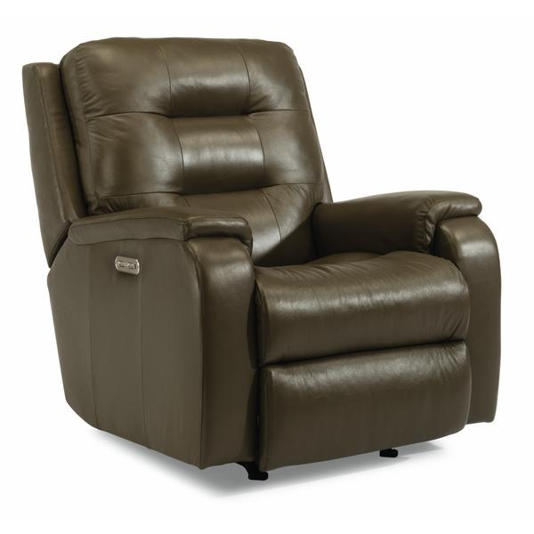 See Details - Arlo Power Rocking Recliner with Power Headrest