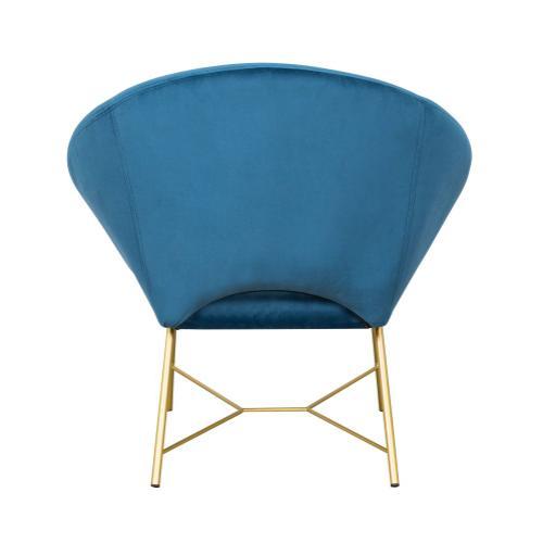 Tov Furniture - Nolan Navy Velvet Chair