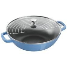 Staub Cast iron 4.5-qt Perfect Pan - Visual Imperfections - French Blue
