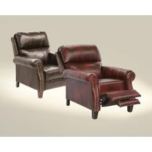 View Product - Reclining Chair w/Extended Ottoman - Bourbon