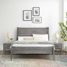 Georgia 3 Piece Queen Bedroom Set in Gray