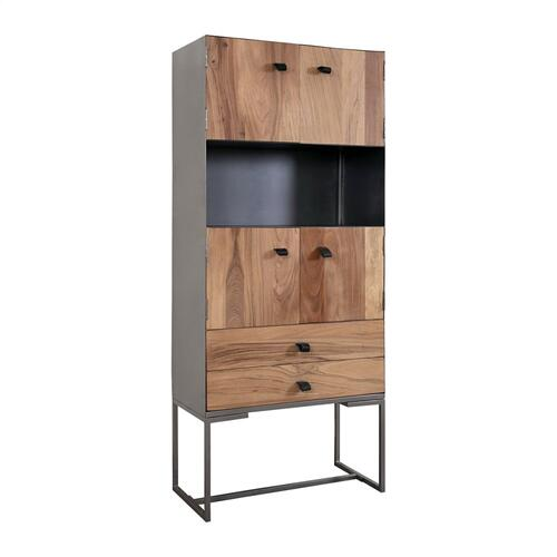 Ogden 4-door 2-drawer Cabinet - Tall