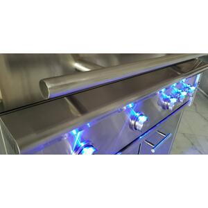 36in Grill 3 Burner w/ Rotiss Burner LP