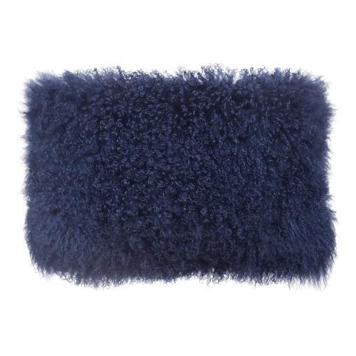 Tov Furniture - Tibetan Sheep Blue Long Pillow