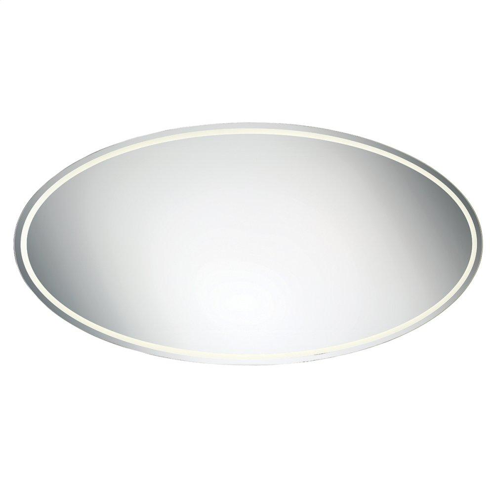 """See Details - 71""""W X 36""""H OVAL MIRROR"""
