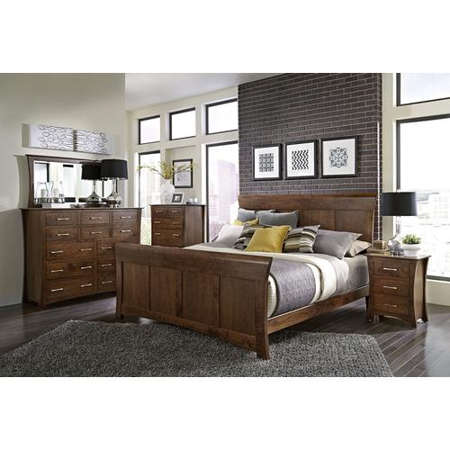 Loft II Panel Bed, Queen