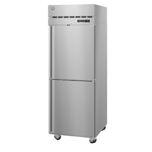 Hoshizaki - R1A-HSL, Refrigerator, Single Section Upright, Half Stainless Doors with Lock