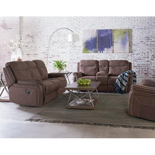 Champion Manual Motion Sofa, Taupe