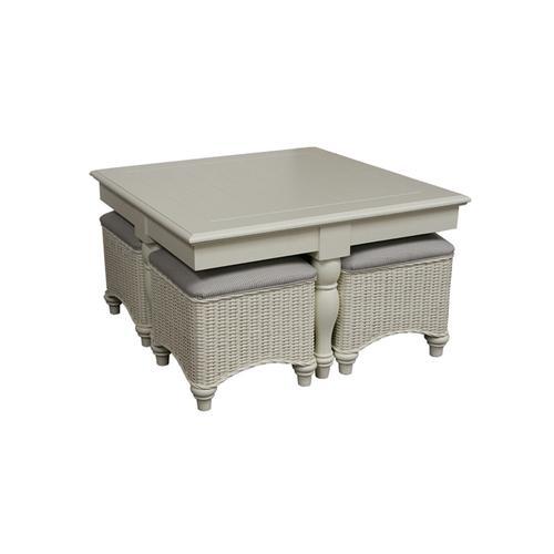 Capris Furniture - 748 Hassock Table