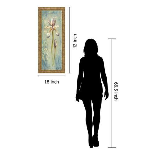 "Classy Art - ""Floral XI"" By Lee Hazel Framed Print Wall Art"
