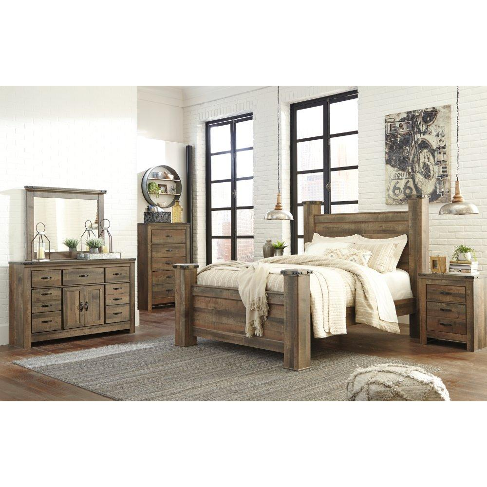 Trinell Queen Poster Bed
