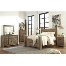 View Product - King Poster Bed With Dresser