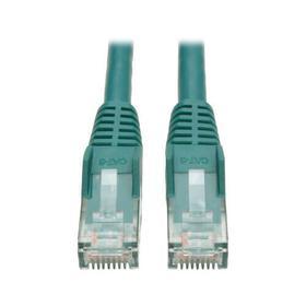 Cat6 Gigabit Snagless Molded (UTP) Ethernet Cable (RJ45 M/M), Green, 6 ft.