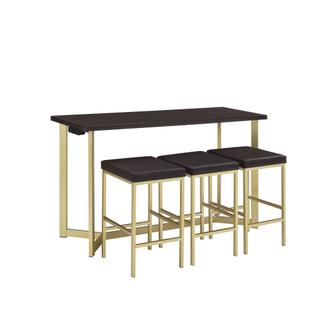 See Details - Harper Bar Table Single Pack (Table + Three Stools)