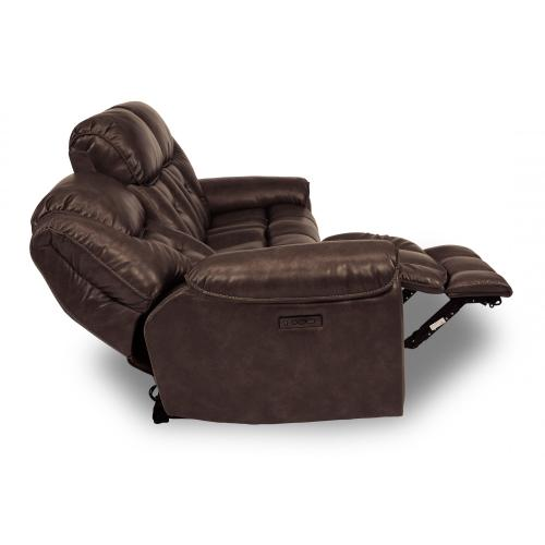 Product Image - Buster Power Reclining Sofa with Power Headrests