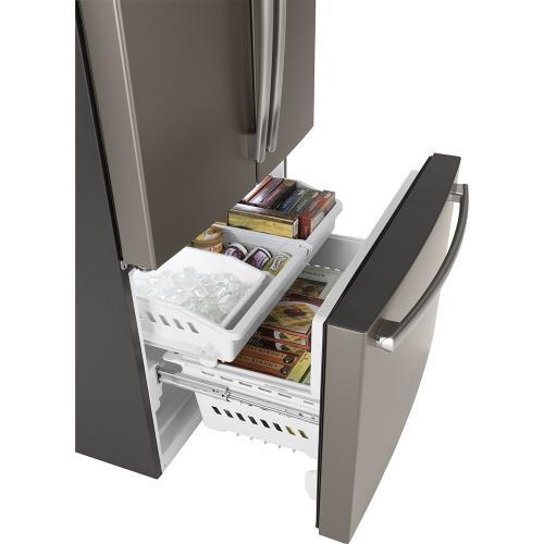 GE 26.7 Cu. Ft, French Door Refrigerator Stainless Steel- GNE27JMMES