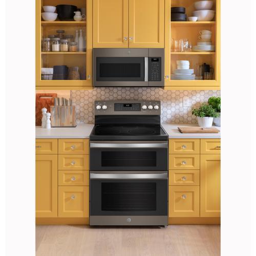 GE Appliances - GE® 1.7 Cu. Ft. Over-the-Range Sensor Microwave Oven