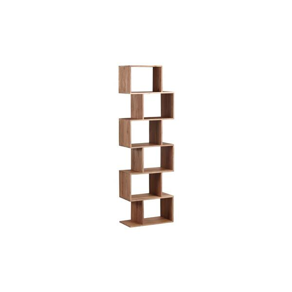 See Details - Portola Natural 6 Cube Bookcase, 2001-7232NT