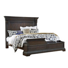 Queen Size Blanket Chest Footboard and Slats