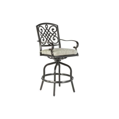 Alfresco Home - Barcelona Bar Swivel Arm Chair