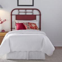 Full Metal Headboard - Red